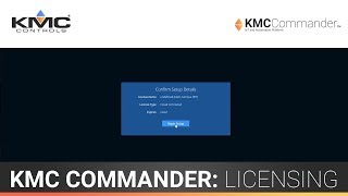 KMC Commander: Licensing & In-Office Setup