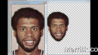 All Time Lakers Centers Artmorph: Abdul Jabbar, O