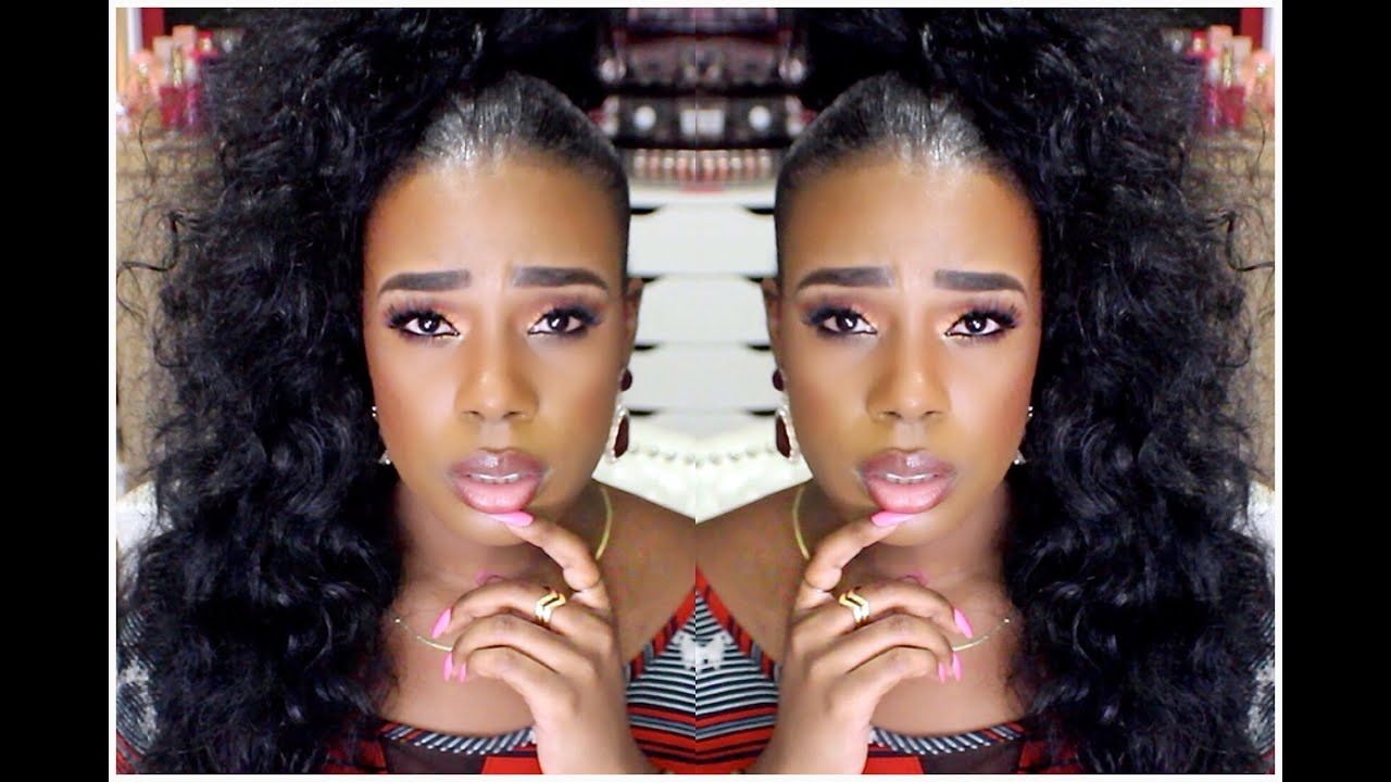 Sleek High Curly Ponytail Tutorial Extensions Clip In
