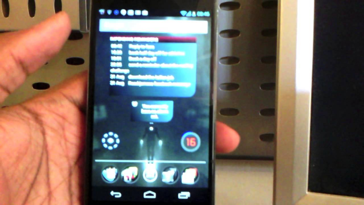Android phone always listening with Cyman Mark 2