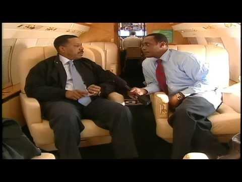 Creflo Dollar - 2006 Interview With FOX 5 Atlanta On Private Jet