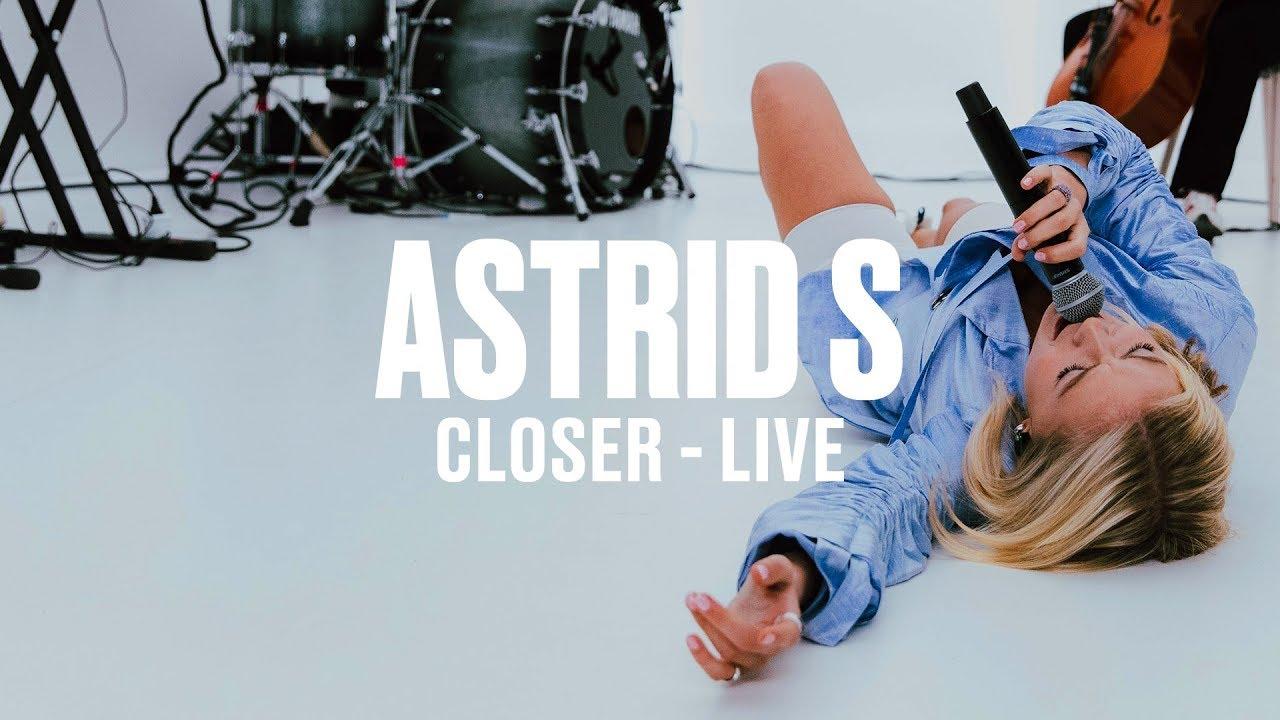Astrid S — Closer (Live) | Vevo DSCVR ARTISTS TO WATCH 2019