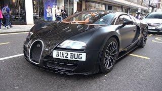 Bugatti Veyron 16.4 Super Sport Sang Noir - Brutal Accelerations!