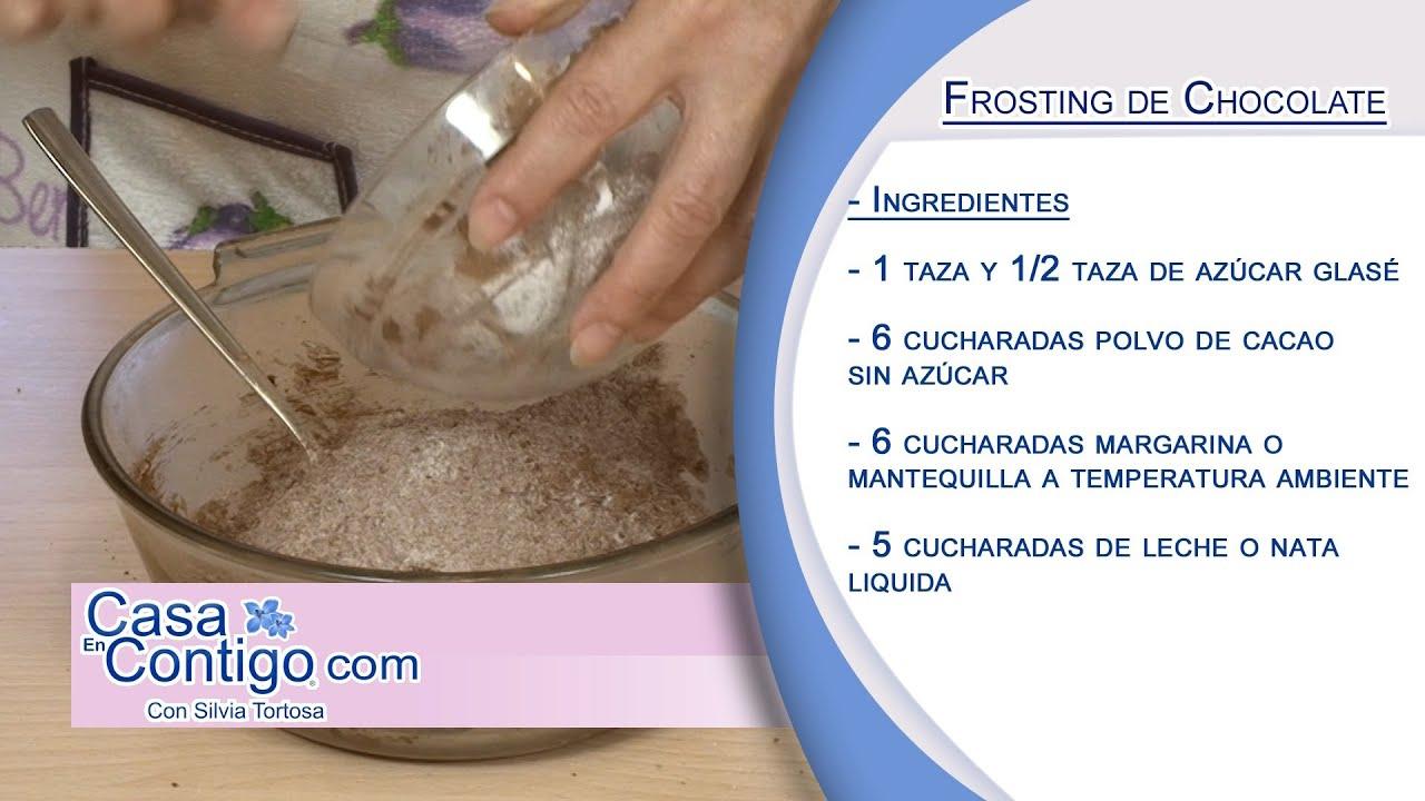 Como hacer un frosting o cobertura de chocolate youtube for Como se extrae el marmol