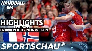 EM-Aus für Frankreich, Norwegen gewinnt intensives Duell | Handball-EM | Sportschau
