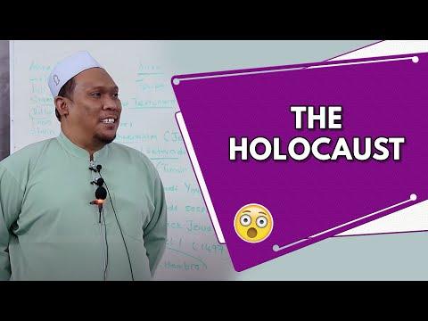 The Holocaust   Ustaz Auni Mohamad