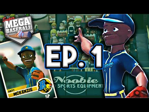 Super Mega Baseball Season Mode: Part 1 - Roster Reveal & First Game!