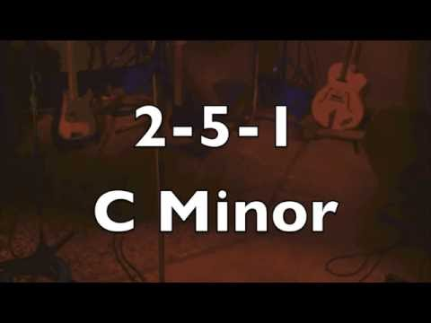 C Minor 2-5-1 Jazz Practice Backing Track (Medium Swing)