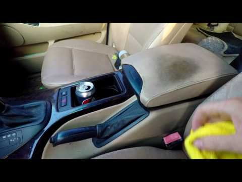 "Best BMW Interior And Leather Cleaner ""Strongest Cleaner Without Damaging Stuff"""