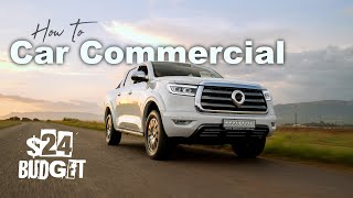 We filmed a Car Commercial with $24 | GWM P-Series South Africa