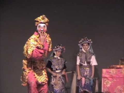 Chinese Theatre Works-Monkey Steals The Heavenly Peaches (production With Students)