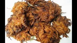 Ulli Vada or Onion Vada ഉളളി വട