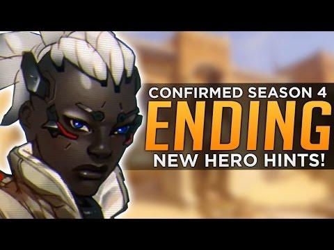 Overwatch: NEW HERO HINTS & Season 4 End Date Confirmed!