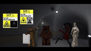 BUILDER BEAR - HEART OF DARKNESS - Roblox SCP 1048 - SCP 058