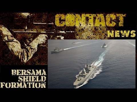 Exercise Bersama Shield 2017 closes with massed ship formation