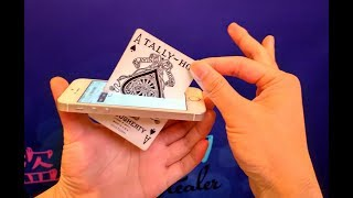 牌穿進手機的魔術揭秘!原來這麽簡單(magic of cards pass through the phone. It is so simple)丨盗心StealerTV