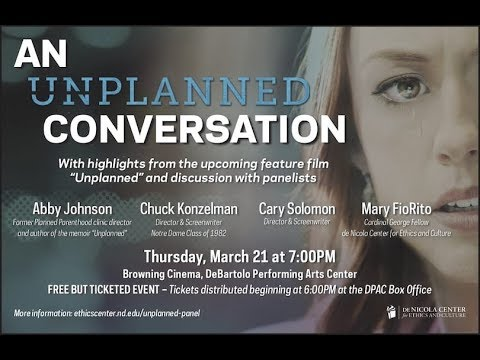 Ver An Unplanned Conversation with Abby Johnson and the Filmmakers en Español