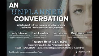 An Unplanned Conversation With Abby Johnson And The Filmmakers