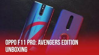 OPPO F11 Pro Avengers Edition | Unboxing