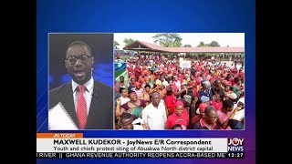 Akyem Tafo Demonstration - Joy News Today (13-12-17)