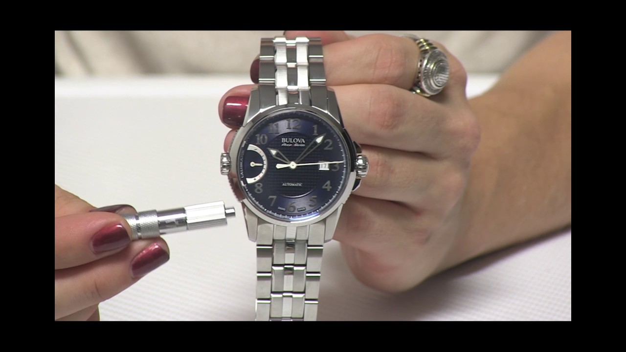 cac6c182e37 Bulova Accu-Swiss Calibrator - YouTube