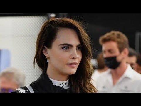 Cara Delevingne Test Drive Formula E Gen 2 Car #FormulaE