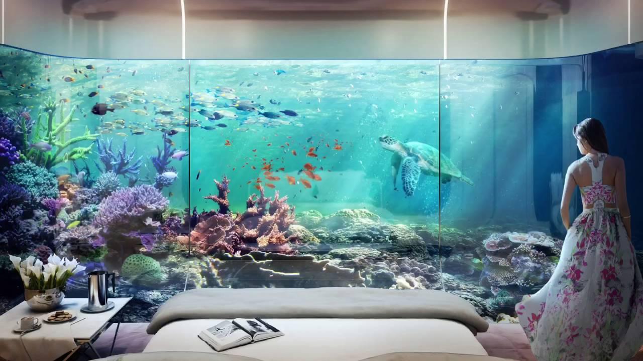 Dubai underwater hotel youtube for Hoteles mas lujosos del mundo bajo el mar