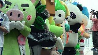 JR西日本「GO!GO!夏旅・行進曲」キャンペーンPRイベントで、大阪ステーシ...