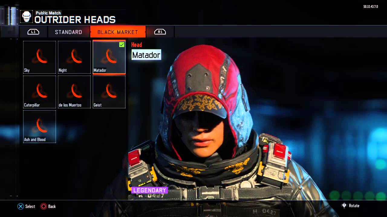 e6377d500b0 Outrider All Black Market Outfits - YouTube
