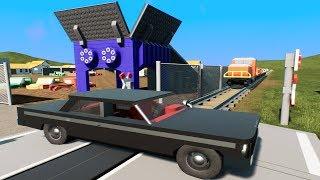 MASSIVE LEGO Train Wrecks #22 - Brick Rigs Gameplay - Lego Toy Destruction