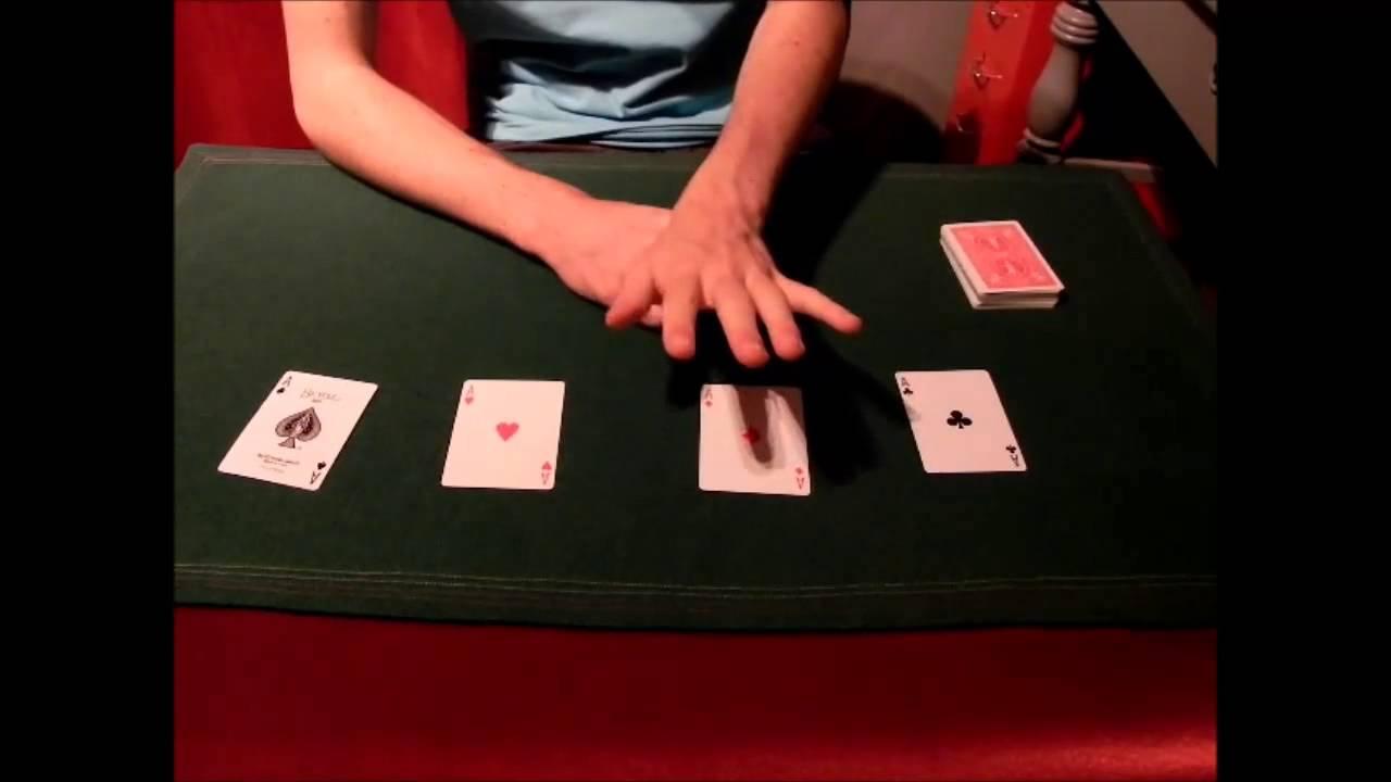 tour de magie carte forcage