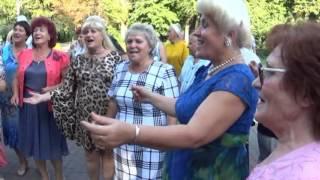 И снова сестры Папины и Коротеев с гармонью город Липецк 6.08.2016