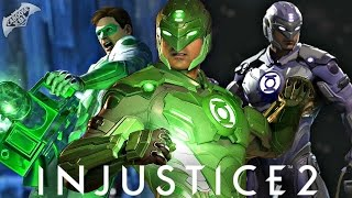 Injustice 2 - Exclusive Green Lantern Gameplay! Gear, Customization and More! (1080p 60fps HD)