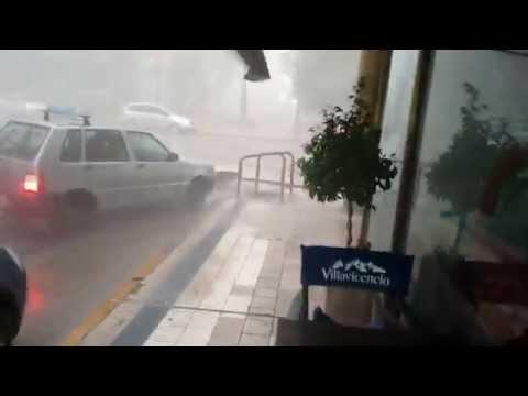 Tormenta en Concepción del Uruguay 5/2/2015