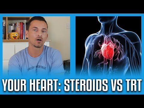 Steroids BAD! TRT GOOD! The Effects On Your Heart (Latest Studies)
