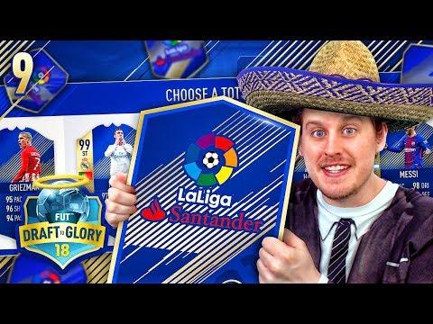 INSANE DRAFT REWARD! LA LIGA TOTS DRAFT CHALLENGE! DRAFT TO GLORY #9! FIFA 18 ULTIMATE TEAM