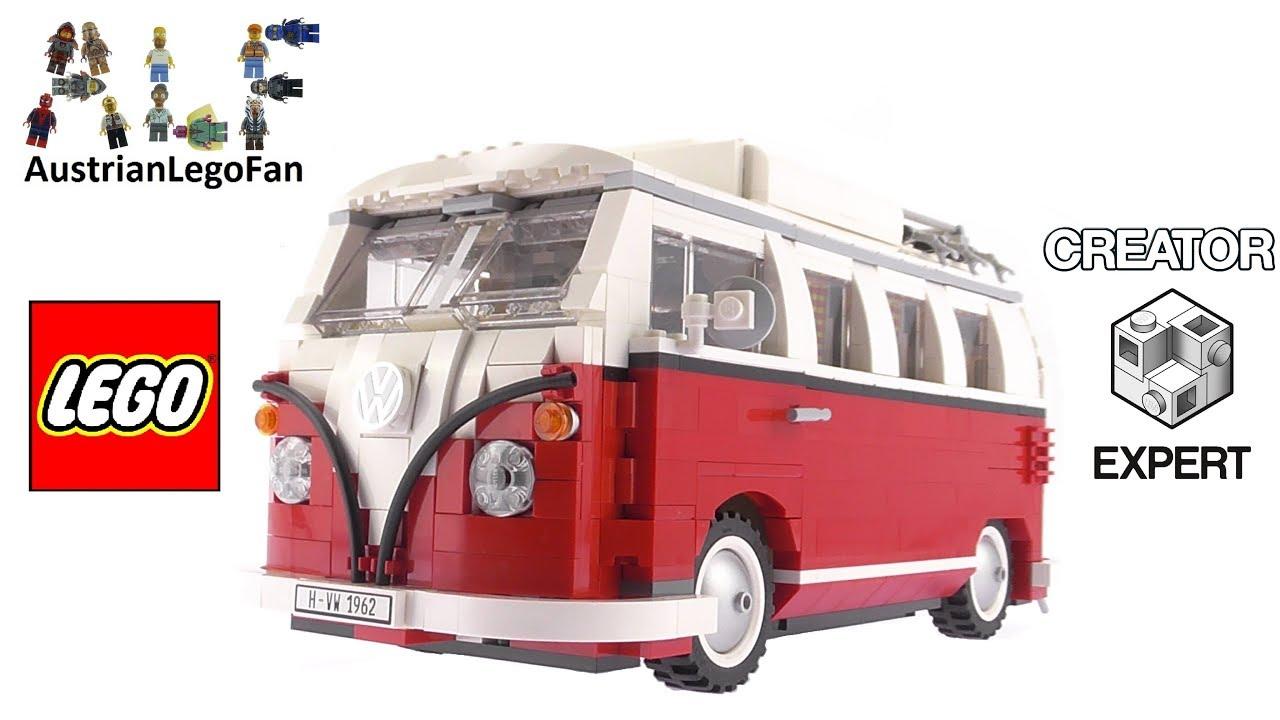 lego creator 10220 volkswagen t1 camper van - lego speed build