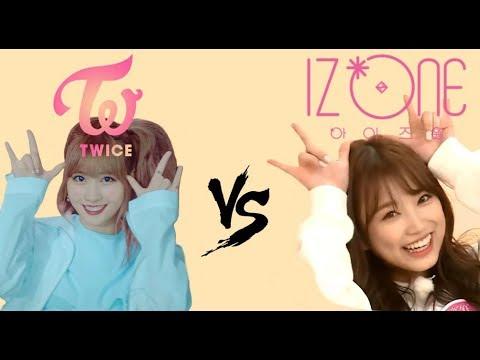 TWICE Momo vs IZ*ONE Nako, Nico Nico Nii Friendly Battle