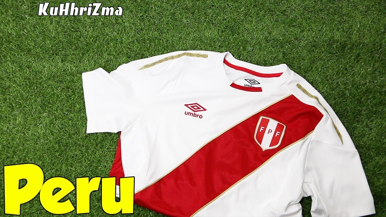e05966a9d World Cup 2018 Umbro Home Peru Jersey Unboxing + Review from Subside Sports