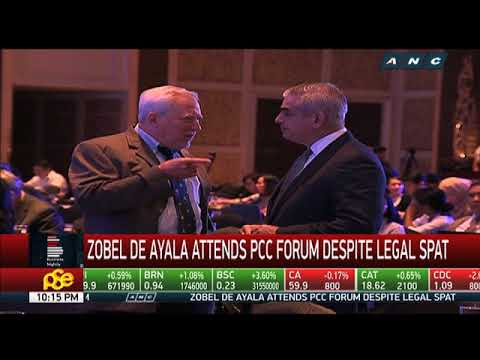 Zobel de Ayala attends PCC forum despite legal spat