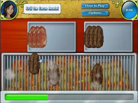 เกมส์ทำอาหารเม็กซิกัน เนื้อย่างสมุนไพร - Carne asada  Mexican food Cooking Game ロースト