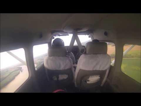Cessna 172 flight (Spirit of St. Louis to Washington Regional)