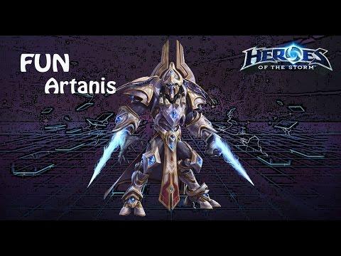 видео: heroes of the storm: top 1 eu (8 выпуск) - Артанис