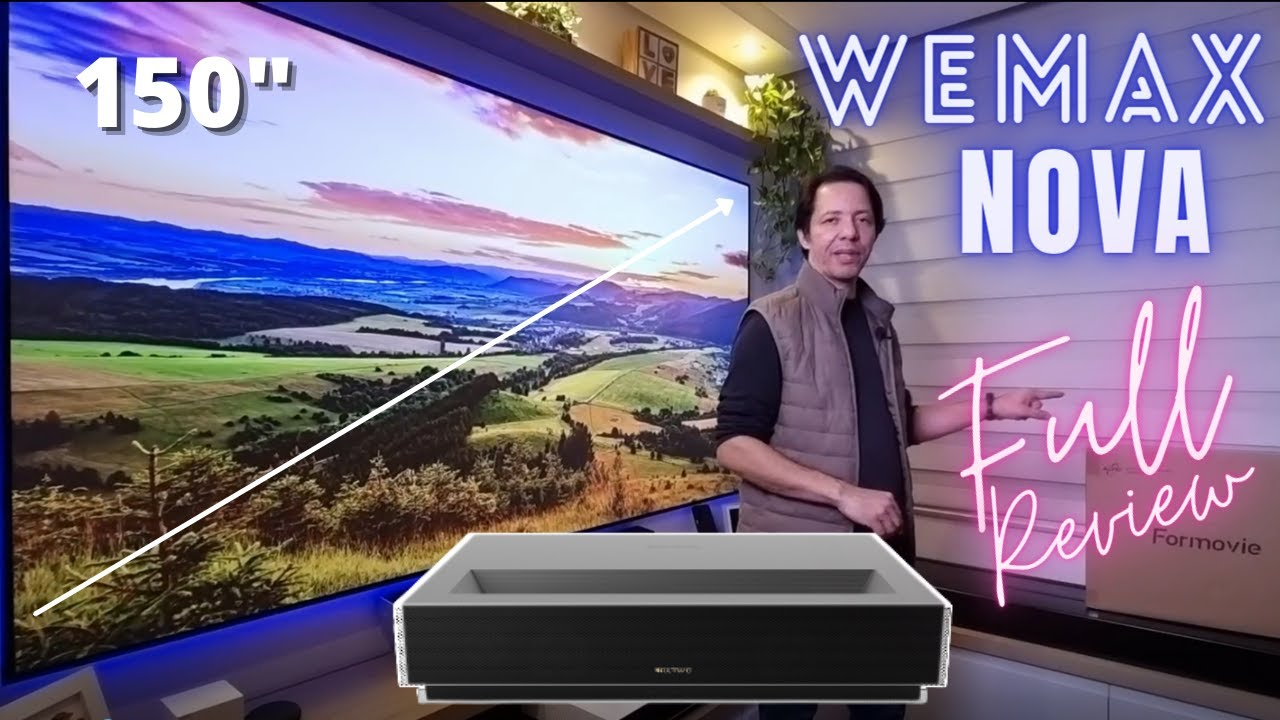 WEMAX NOVA ust laser 4K- Conheça tudo sobe ele -  1º review  do Brasil