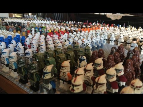 My NEW LEGO Star Wars Minifigure Collection Video! NEW 2017! (GIANT ...
