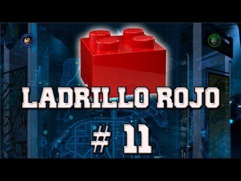 """LEGO Batman 2: DC Super Heroes - Desbloqueando """"Ladrillo de Lego Rojo - Piezas de Personaje # 11"""""""