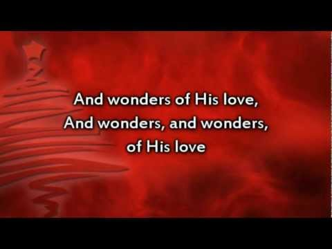 Joy to the World - Instrumental with lyrics