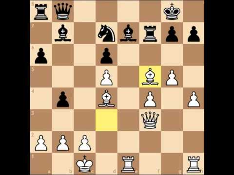 Unbelievable Chess Game- Mikhail Tal's Immortal Game!!
