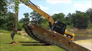 EIK Cat 315D Amphibious Excavator