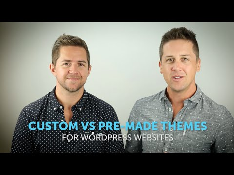 Custom vs Pre-made Themes for WordPress Websites: Pro's and Cons
